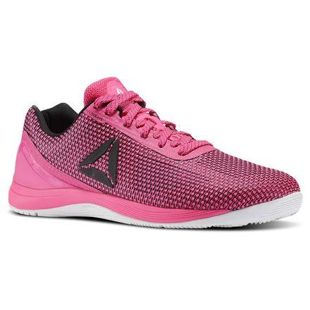 Reebok CrossFit Nano 7 Men's Training Shoes in Poison Pink / Black / White