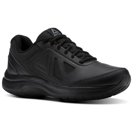 Reebok Walk Ultra 6 DMX Max Men's Walking Shoes in Black / Alloy