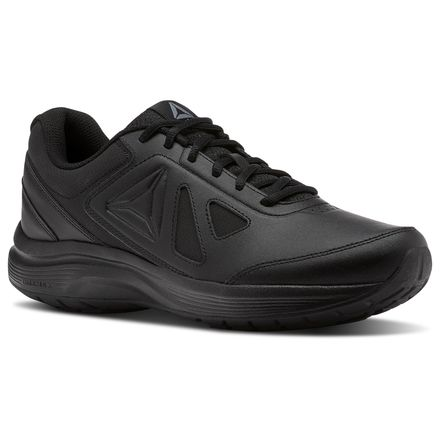 Reebok Walk Ultra 6 DMX Max 2E Men's Walking Shoes in Black / Alloy