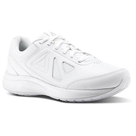 Reebok Walk Ultra 6 DMX Max 4E Men's Walking Shoes in White / Steel