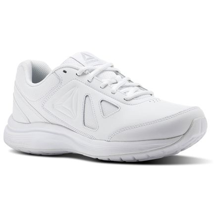 Reebok Walk Ultra 6 DMX Mac D Women's Walking Shoes in White / Steel