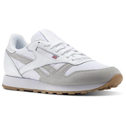 Reebok Classic Leather ESTL Men s Retro Running Shoes in White ... 50ddde9d1