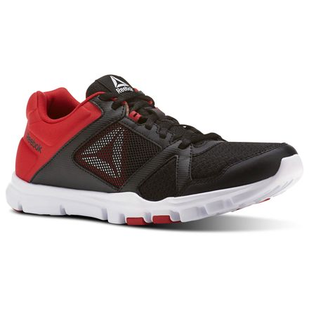 Reebok Yourflex Train 10 MT Men's Training Shoes in Black / Primal Red / White