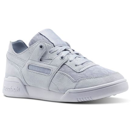 Reebok Workout LO Plus Cold Pastel Women's Fitness Shoes in Cloud Grey