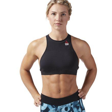 Reebok CrossFit CORDURA® Women's Training Sports Bra in Black