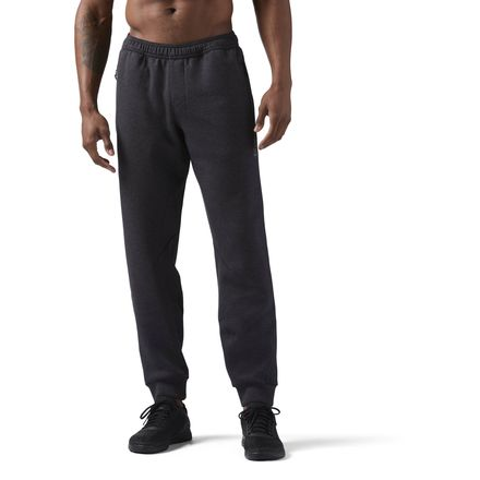 Reebok CrossFit Men's Training Knit Joggers Pants in Black