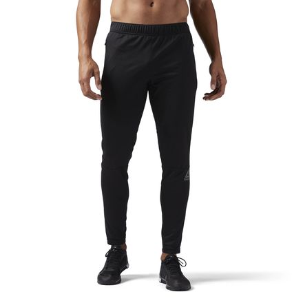 Reebok Speedwick Knit Trackster Men's Training Pants in Black
