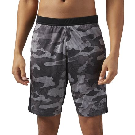 Reebok Speedwick Knit Exo Camo Men's Training Shorts in Black