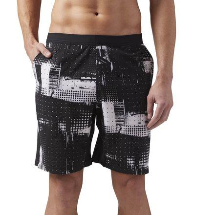 Reebok Speedwick Men's Training Speed Shorts - Geocast in Black
