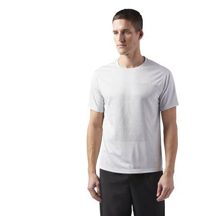 Reebok Reflective Men's Running T-Shirt in Skull Grey