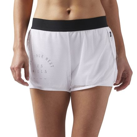 Reebok LESS MILLS Women's Studio Shorts in White