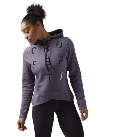 Reebok CrossFit Women's Training SpeedWick Hoodie in Smoky Volcano