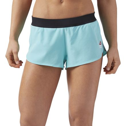 Reebok CrossFit Women's Training 2in Water Repellant Shorts in Turquoise
