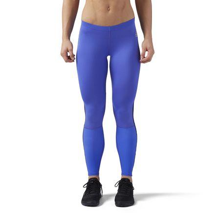 Reebok CrossFit Women's Training Compression Leggings in Acid Blue