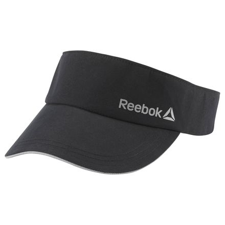 Reebok Unisex Running Performance Visor in Black