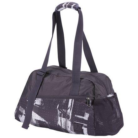 Reebok Enhanced Lead & Go Graphic Women's Training Grip Bag in Smoky Volcano