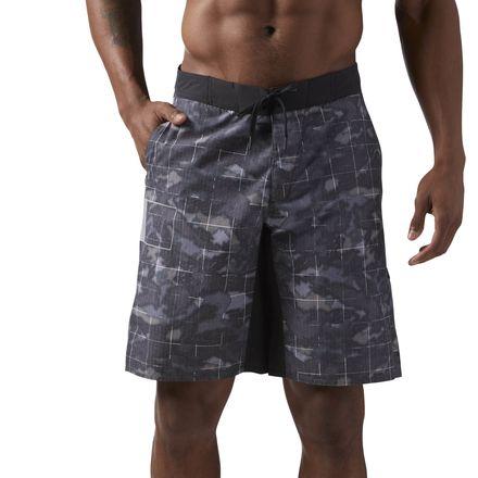 Reebok CrossFit Super Nasty Tactical Board Men's Training Shorts in Dark Grey