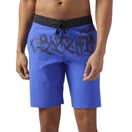 Reebok CrossFit Men's Super Nasty Training Short in Acid Blue