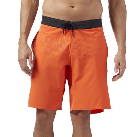 Reebok CrossFit Men's Training Super Nasty Shorts in Bright Lava