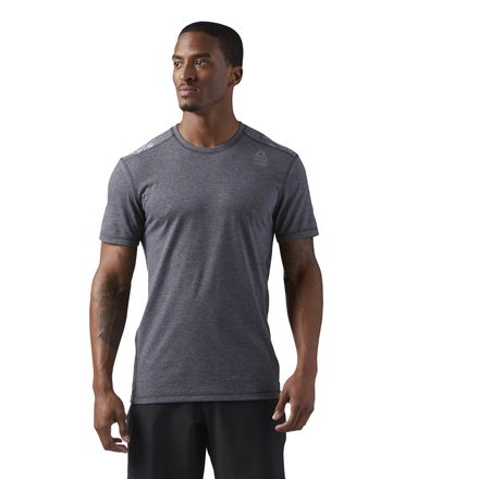 Reebok CrossFit Burnout Men's Training Tee in Dark Grey