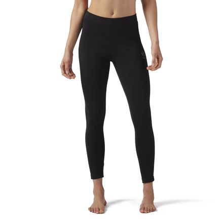 Reebok Essential Women's Casual Cotton Leggings in Black