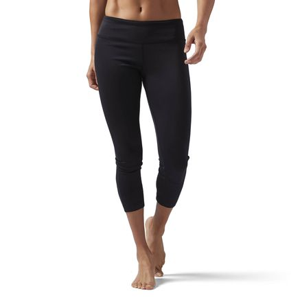 Reebok Workout Ready Leggings Women's Training Tights in Black