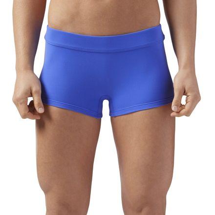 Reebok CrossFit Women's Training Chase Shorty Shorts in Acid Blue