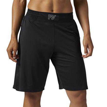 Reebok Combat Women's Prime Boxing Short in Black