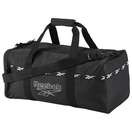Reebok Lost & Found Casual Unisex Duffle Bag in Black