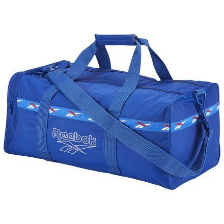 Reebok Lost & Found Casual Unisex Duffle Bag in Royal Blue