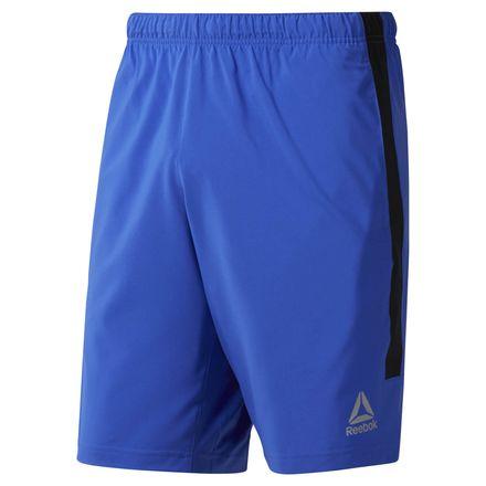 Reebok Woven Performance Men's Training Shorts in Acid Blue
