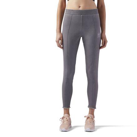 Reebok Stretch Denim Jegging Women's Casual Leggings in Cool Shadow
