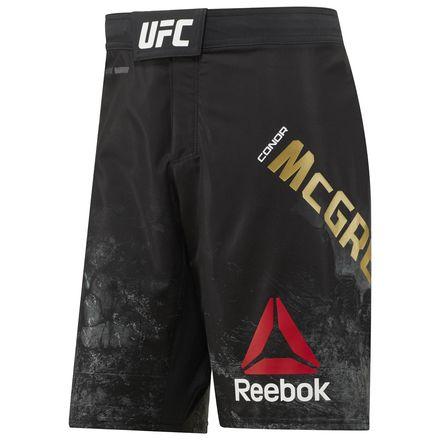 Reebok UFC Fight Night Conor McGregor Champ Octagon Men's MMA Short in Black