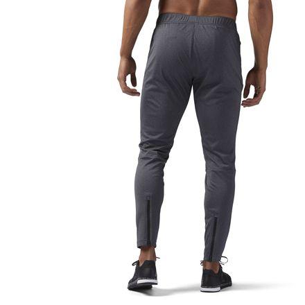 Reebok Speedwick Knit Trackster Men's Training Pants in Dark Grey