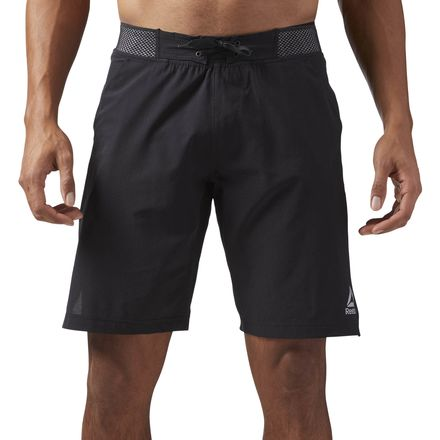 Reebok Epic Knit Waistband Men's Training Shorts in Black