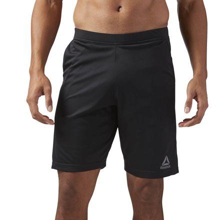 Reebok Speedwick Knit Men's Training Shorts in Black