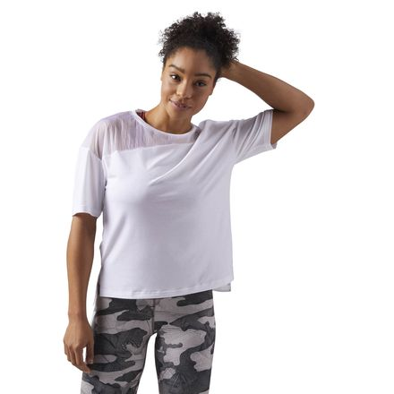Reebok Essentials Women's Training Layering T-Shirt in White