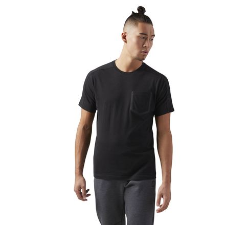 Reebok Training Supply Move Men's T-Shirt in Black