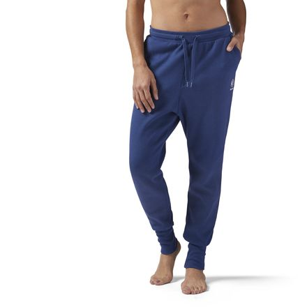 Reebok Women's Casual Jogger Pants in Washed Blue