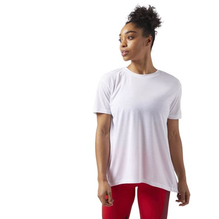 Reebok Supremium Women's Training T-Shirt in White