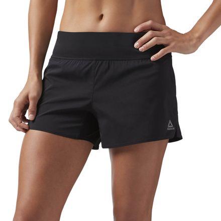 Reebok 4in Woven Women's Training Shorts in Black