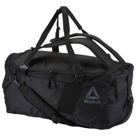 Reebok Unisex Training Convertible Grip Bag in Black
