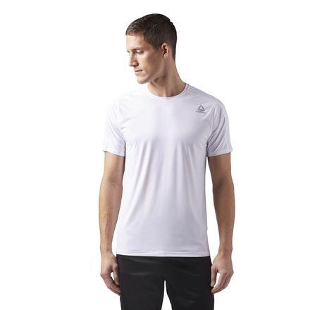 Reebok ACTIVCHILL Move Tee Men's Training T-Shirt in White