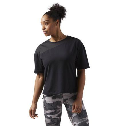 Reebok Essentials Women's Training Layering T-Shirt in Black