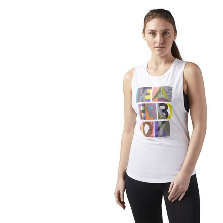 Reebok WENDY Women's Training Tank Top in White