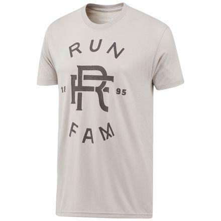 Reebok Graphic Running FAM Tee Men's Training T-Shirt in Premium Heather