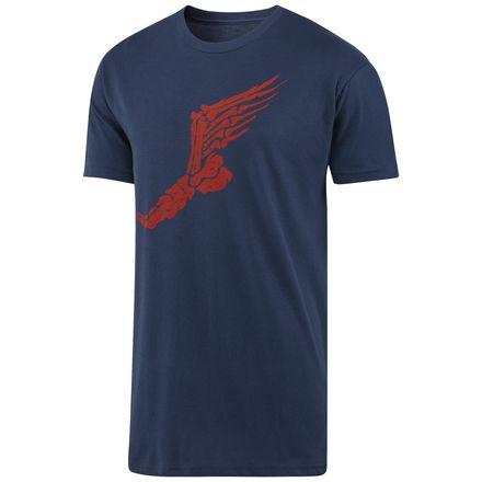 Reebok Graphic Running Tee Men's Training T-Shirt in Indigo