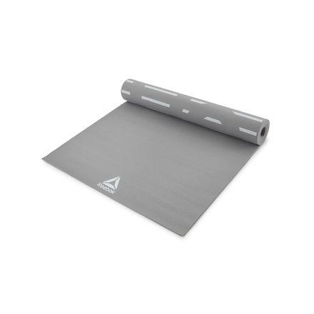 Reebok Studio Double Sided 4mm Yoga Mat in Grey