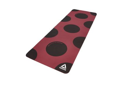 "Reebok Yoga Mat (POE) - ""Shut Up You're Awesome"" in Red"