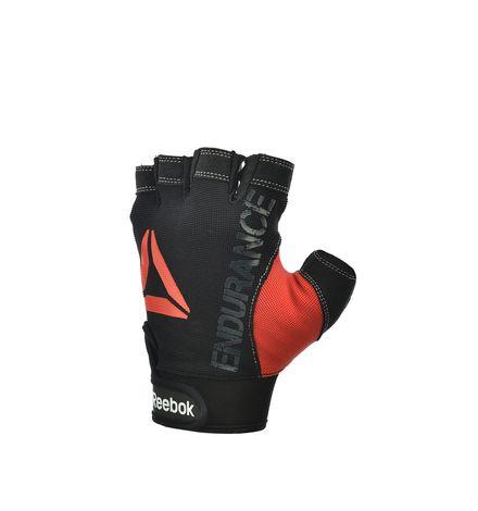 Reebok Unisex Combat Training Strength Glove in Black / Red